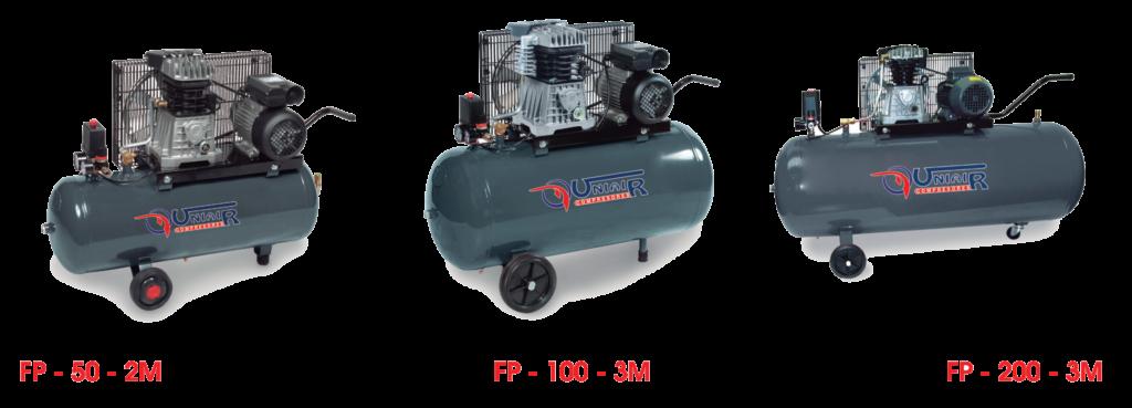 Compresores de Piston sobre Depósito Prtátiles